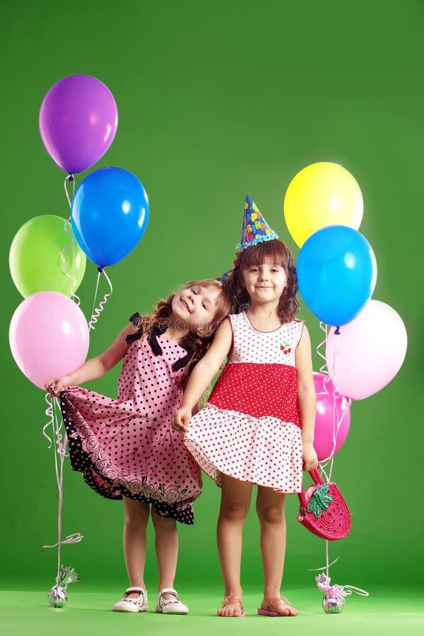 Aniversário das crianças foto de stock