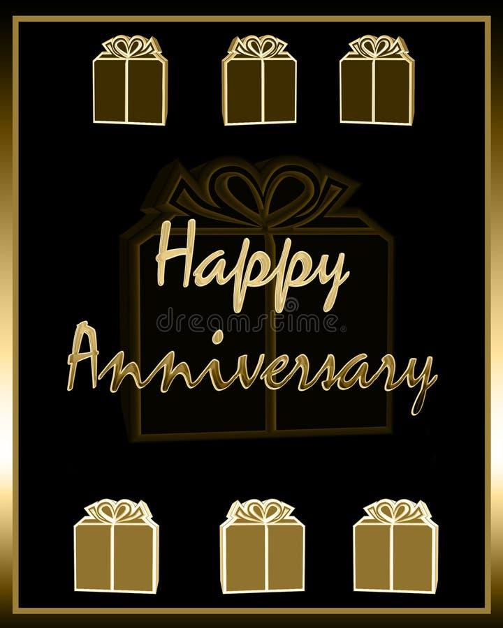 Aniversário feliz ilustração royalty free