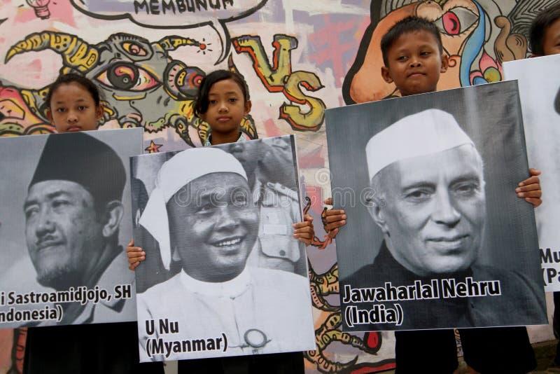 aniversario Asiático-africano de la conferencia foto de archivo libre de regalías