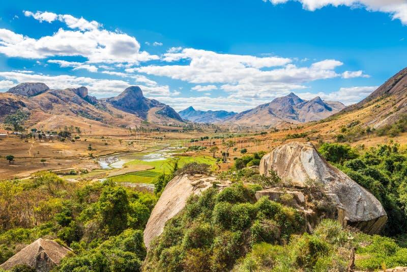 Anja - Nature reserve of Madagascar. Anja park - Nature reserve of Madagascar stock images