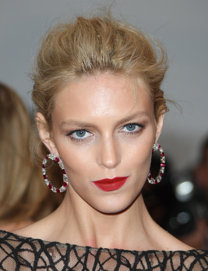 Anja Rubik. Arriving for the 'Cosmopolis' premiere during the 65th annual Cannes Film Festival, Cannes, France. 25/05/2012 Picture by: Henry Harris / stock photo