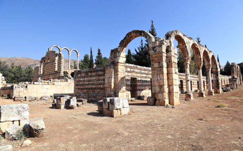 Anjar, Lebanon stock images