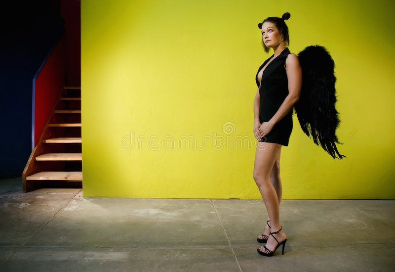 Anjo 2 foto de stock royalty free