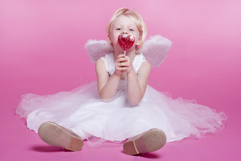 Anjo bonito imagem de stock royalty free