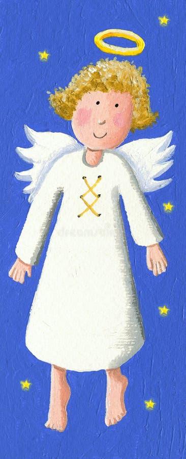 Anjo bonito ilustração royalty free
