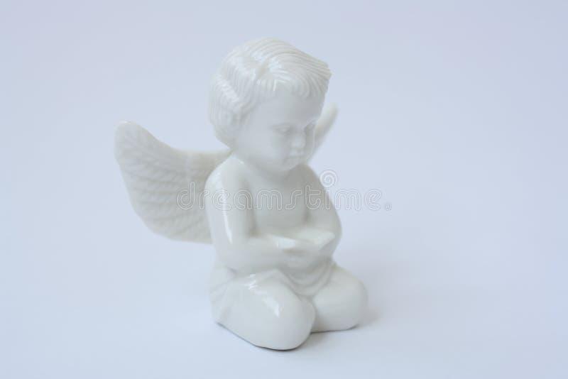 Anjo branco imagens de stock