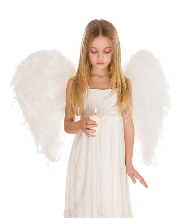 Anjo calmo imagem de stock