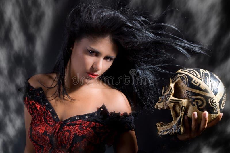 Anjo da escuridão fotos de stock royalty free