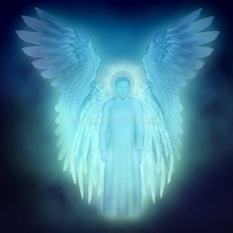 Anjo da guarda ilustração stock