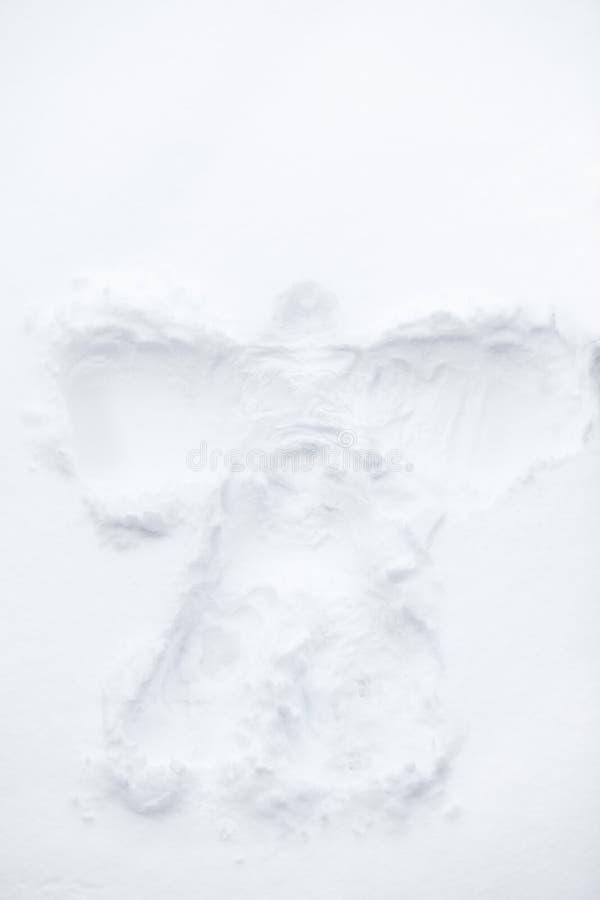 Anjo da neve imagens de stock royalty free