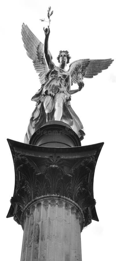 Anjo da paz foto de stock royalty free