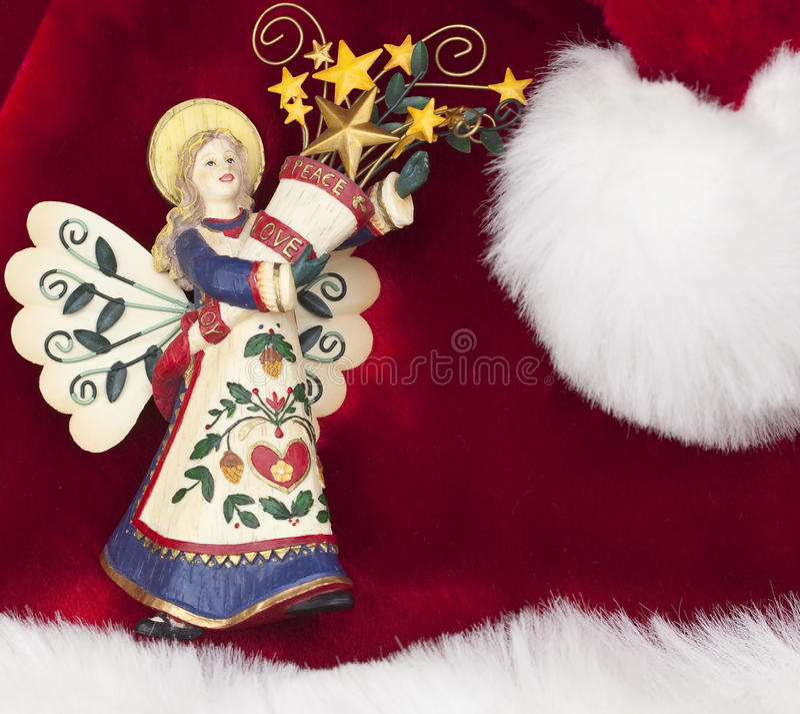 Anjo da paz imagens de stock