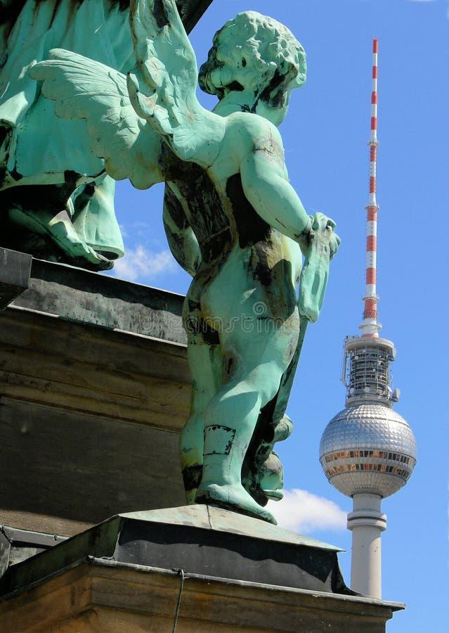 Anjo de Berlim fotografia de stock