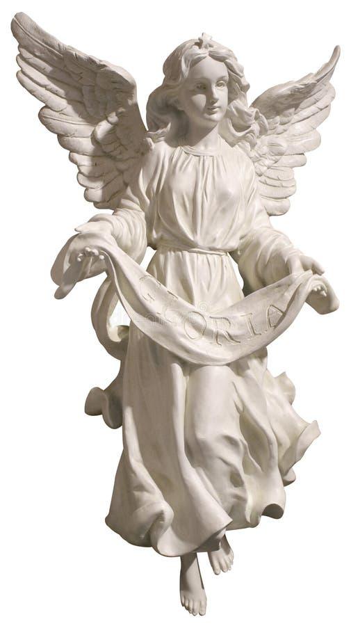 Anjo de Gloria imagem de stock royalty free