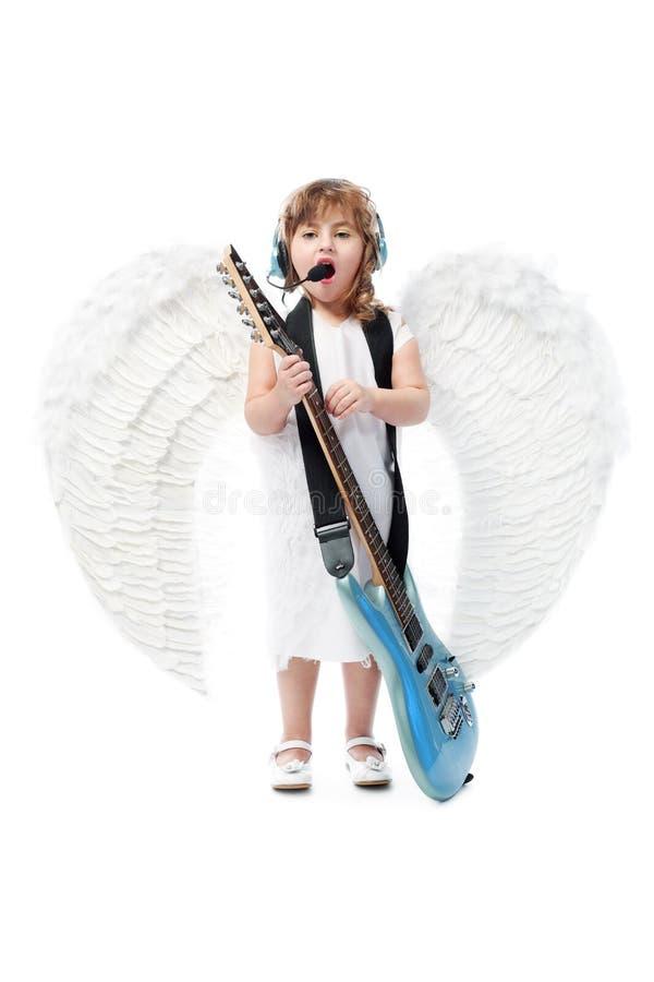 Anjo do canto imagem de stock