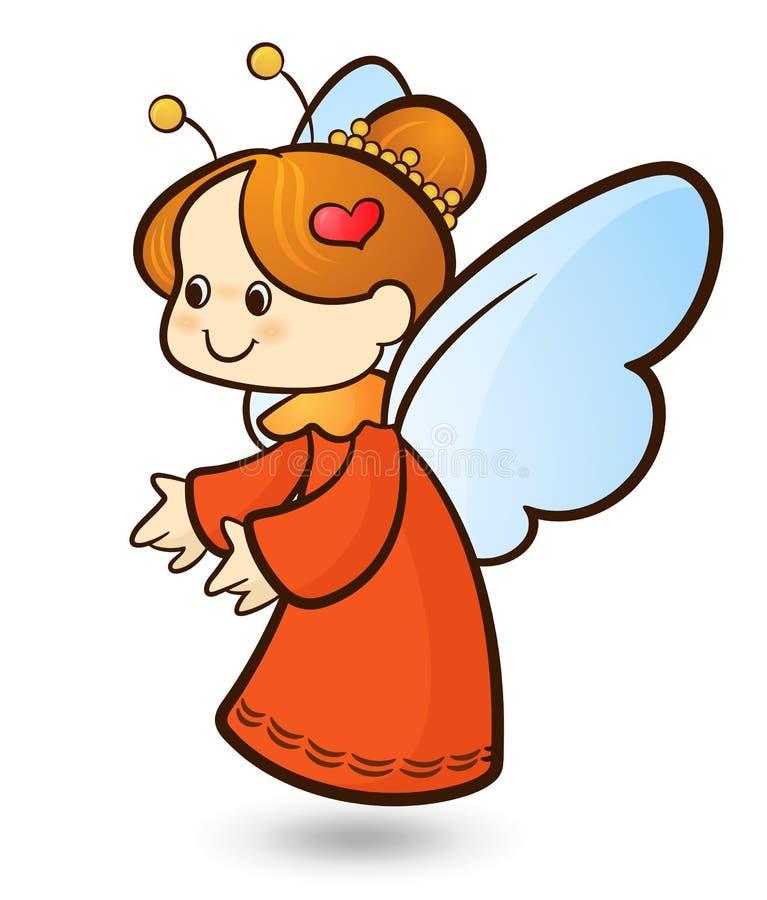 Anjo do Cupid ilustração royalty free