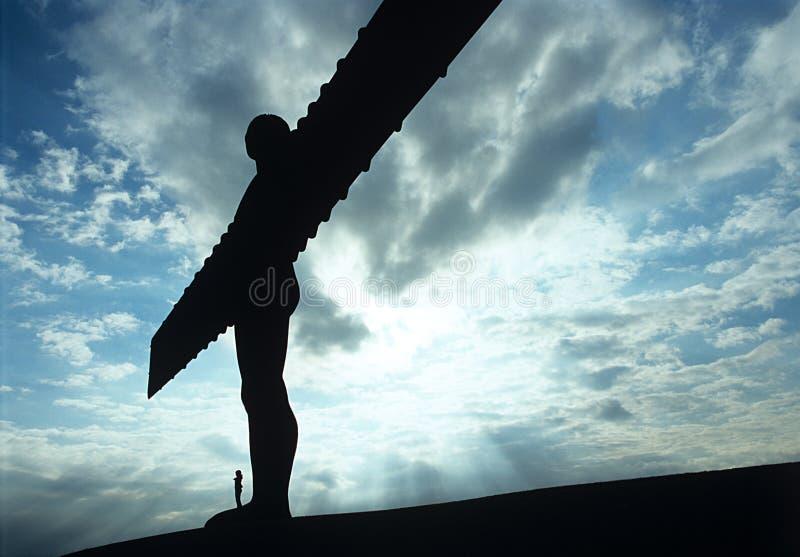 Anjo do Enland norte. fotos de stock