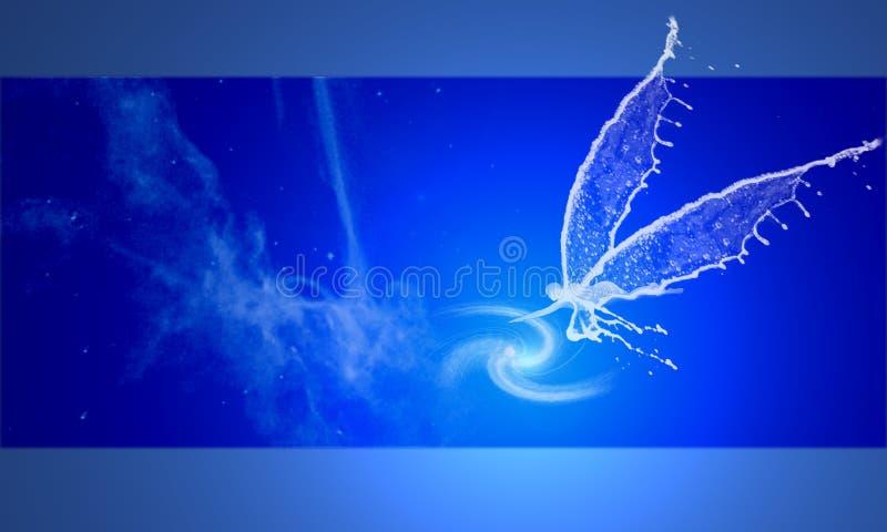 Anjo do espaço ilustração royalty free