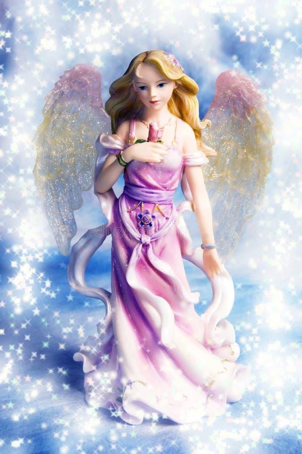 Anjo do Natal imagem de stock