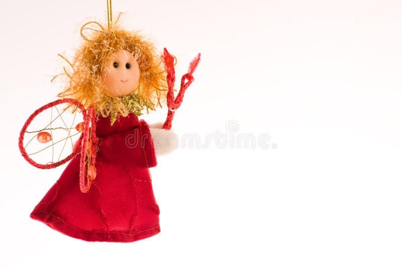 Anjo do Natal foto de stock royalty free