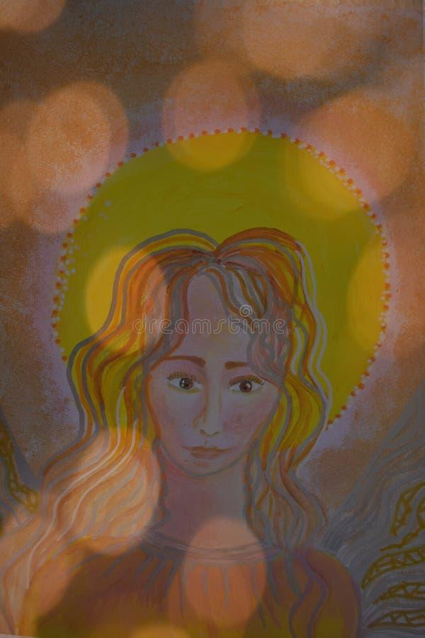 Anjo do senhor ilustração royalty free
