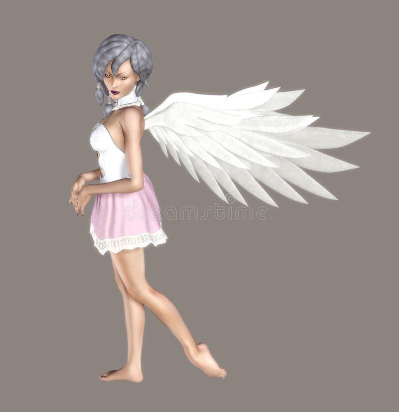 Anjo doce ilustração do vetor