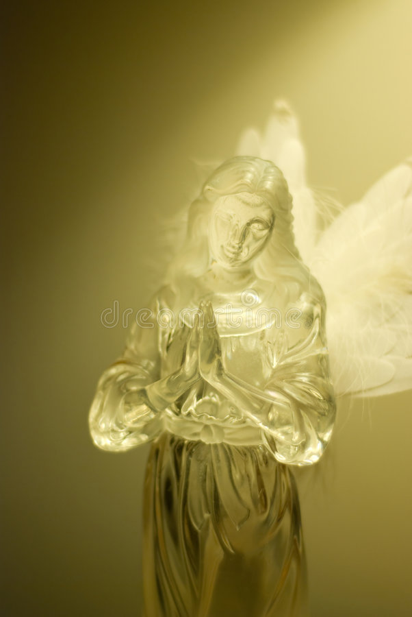 Anjo Praying fotos de stock royalty free