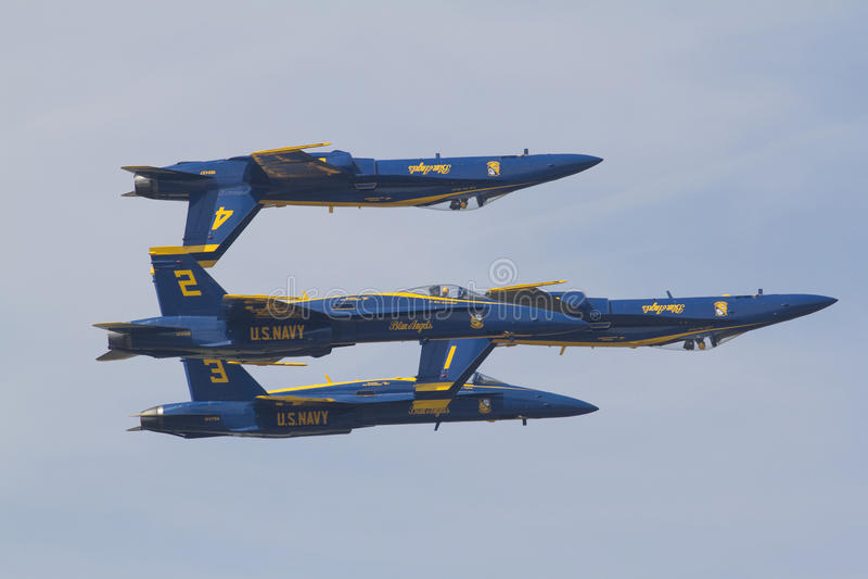 Anjos azuis em voo fotos de stock
