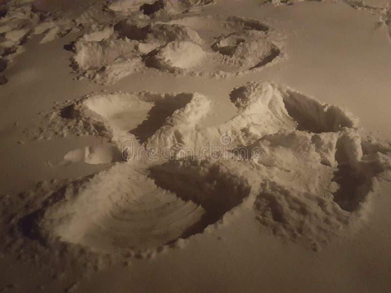 Anjos da neve fotos de stock