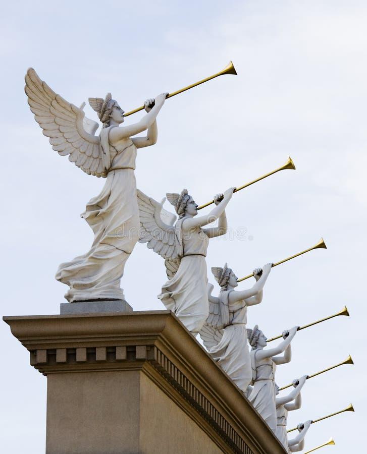 Anjos de Las Vegas imagem de stock royalty free