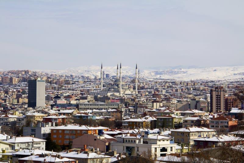 Ankara. In winter - capital of Turkey stock photography