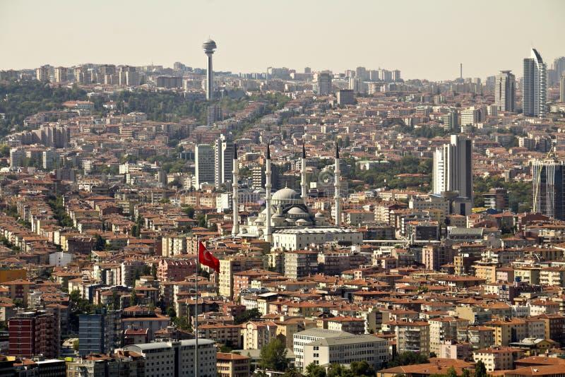 Ankara. Capital city of Turkey royalty free stock photo