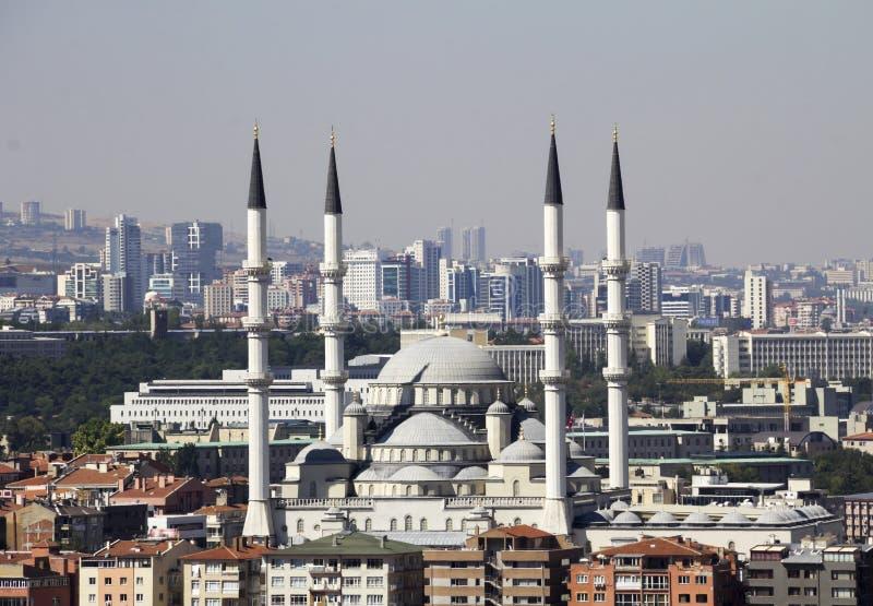 Ankara, Capital city of Turkey. Kocatepe Mosque stock photos