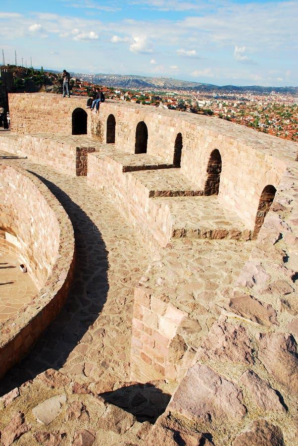 Download Ankara castle stock photo. Image of architecture, travel - 14373422