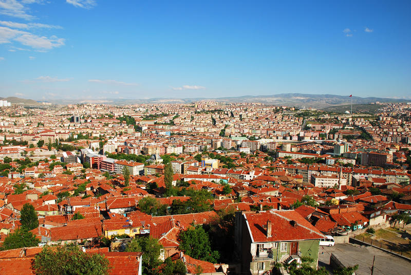 Download Ankara city skyline stock photo. Image of eastern, cloud - 14373360