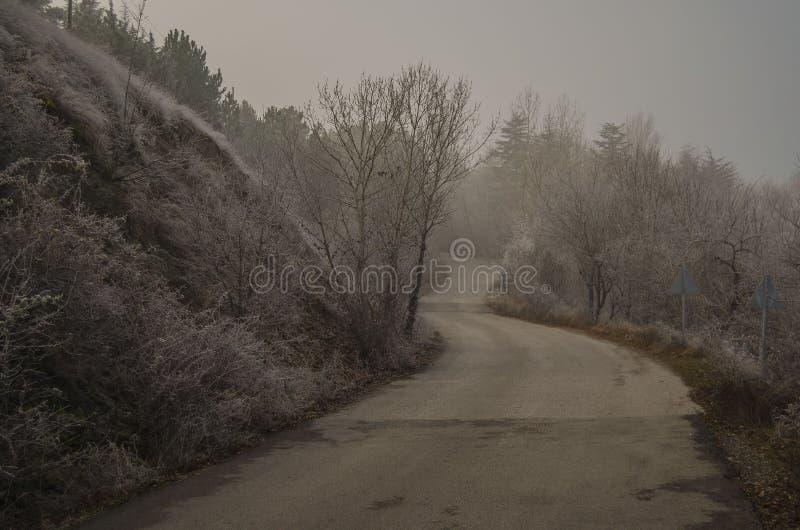 Ankara, jezioro, droga, błękit, zima zdjęcie royalty free