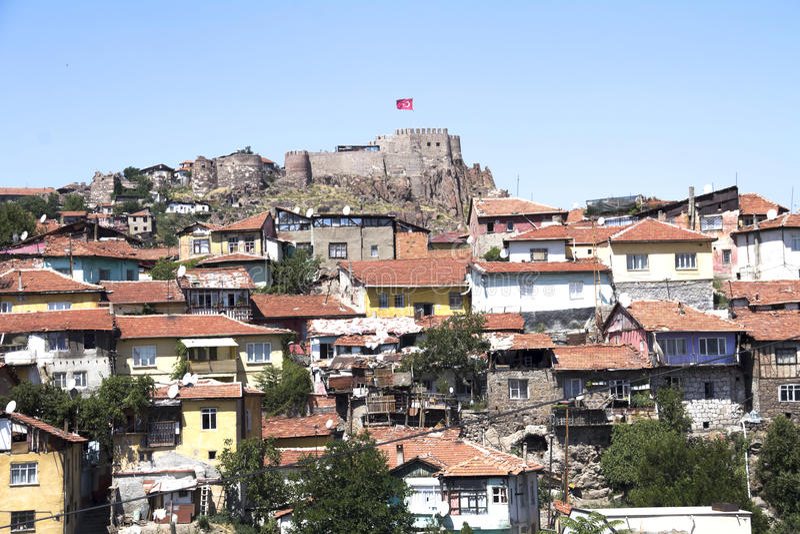 Ankara kasztel zdjęcia stock