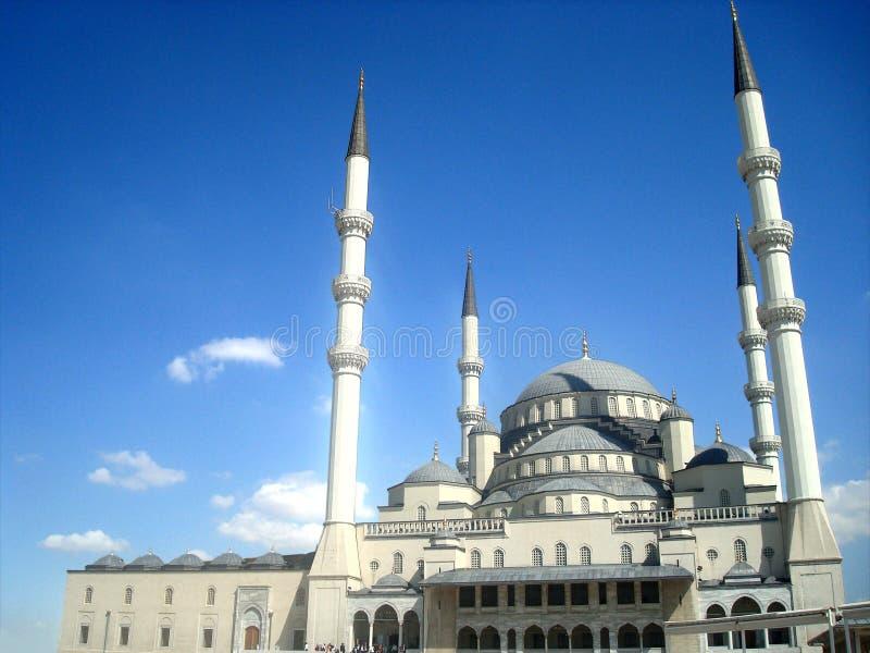 Ankara Kocatepe meczet fotografia stock