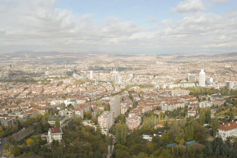ankara panoramiczny widok fotografia stock