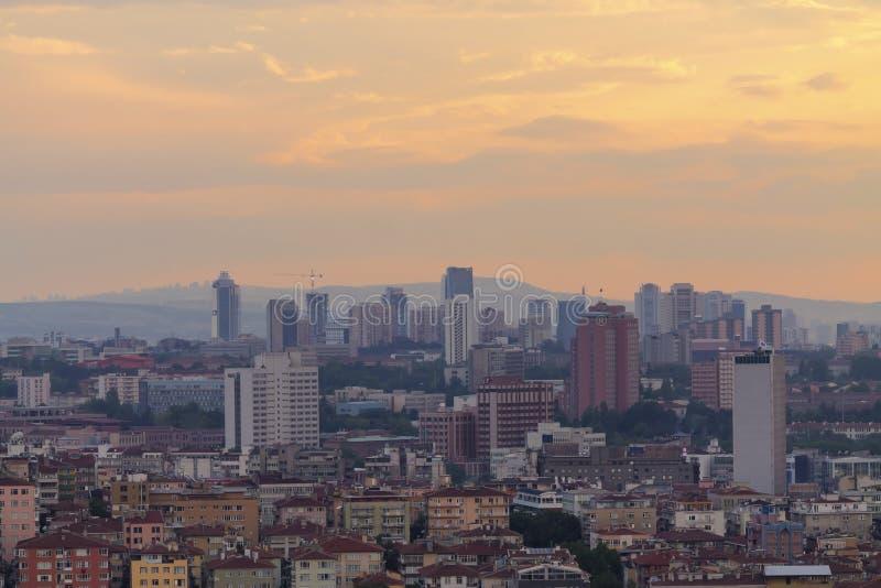 Ankara pejzaż miejski zdjęcie royalty free