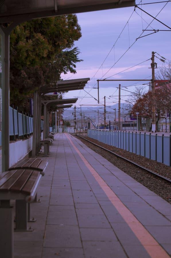 Ankara, pociąg, stacja, stara, czerń obrazy royalty free
