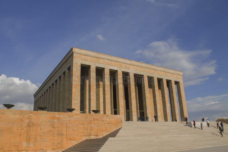 Ankara, Turquie : Mausolée d'Ataturk, Mustafa Kemal Ataturk photos stock