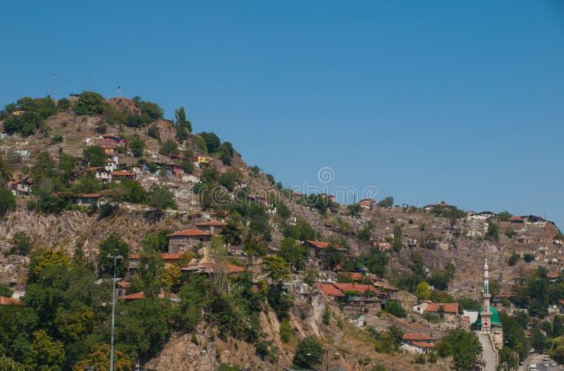 Ankara widok zdjęcie royalty free