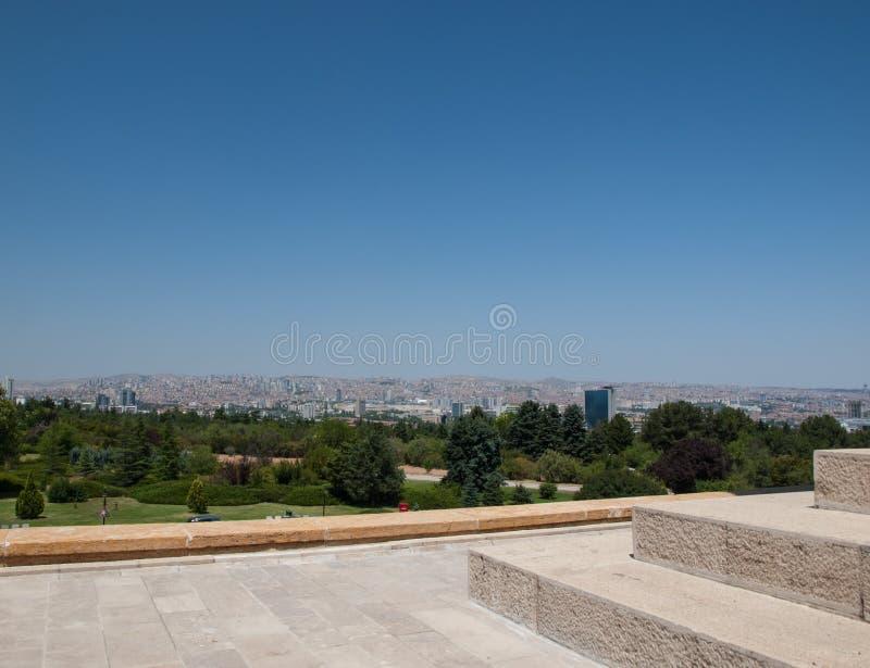 Ankara widok zdjęcia stock