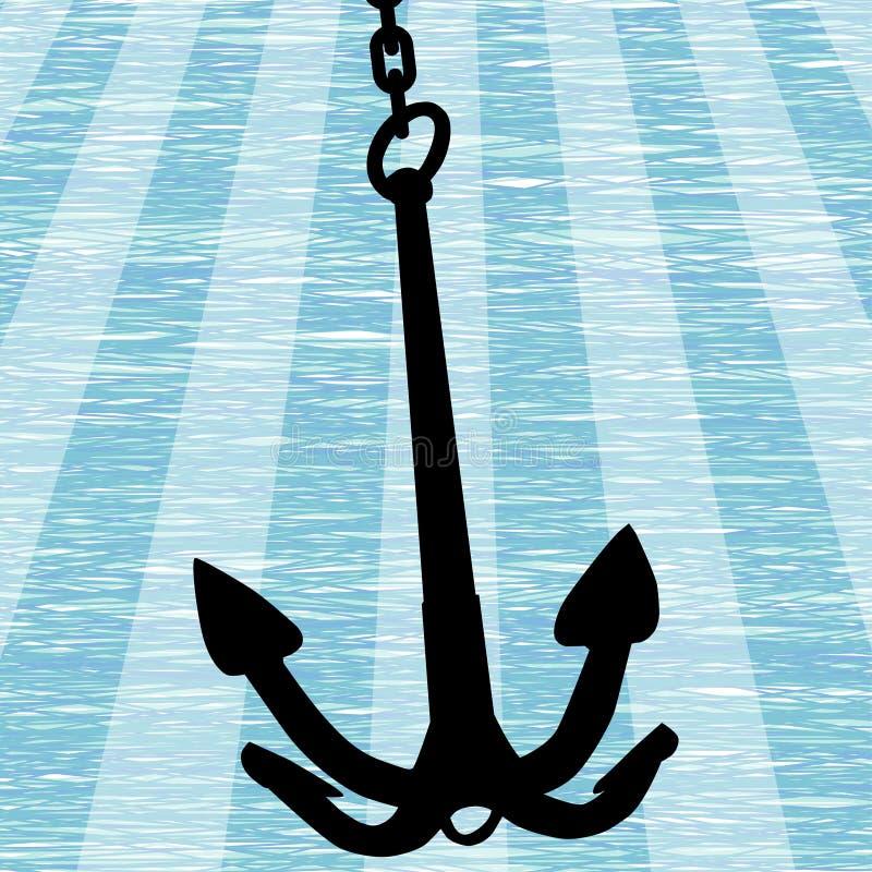 Anker royalty-vrije illustratie