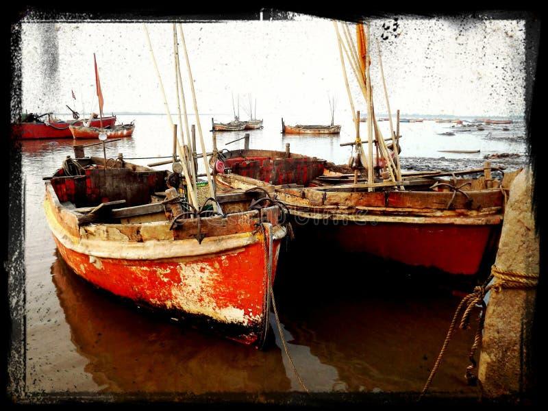 Ankerboot royalty-vrije stock fotografie
