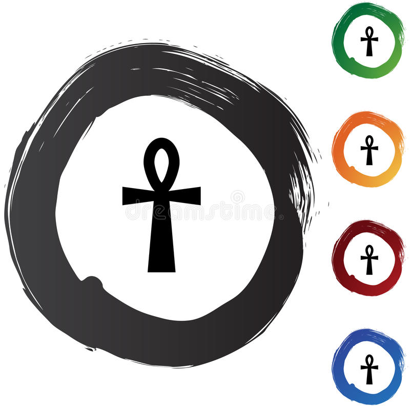 Ankh. An image representing a Ankh royalty free illustration