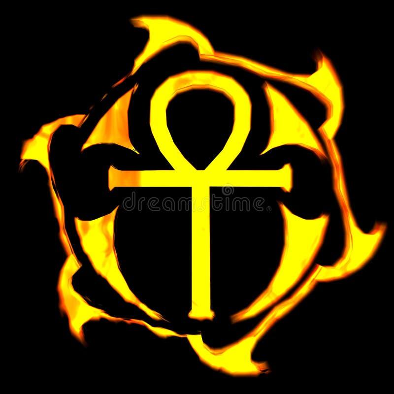 Download Ankh Cross stock illustration. Image of cross, jesus, christ - 641726