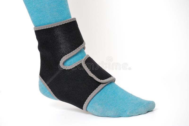 Ankle support royalty free stock photography