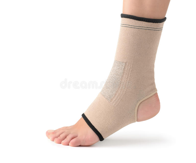 Ankle support royalty free stock image